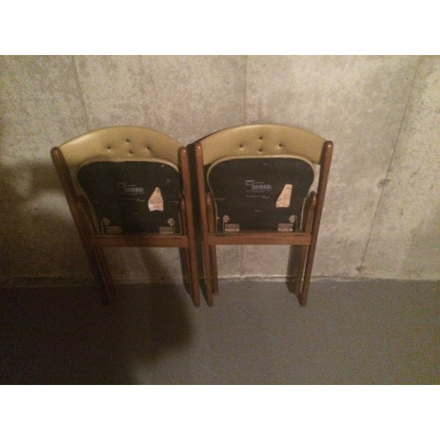 Vintage 1960's Coronet Wonderfold Chairs - A Pair - Image 3 of 5