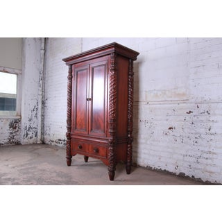 Ralph Lauren Safari Collection Mahogany Armoire Dresser Preview