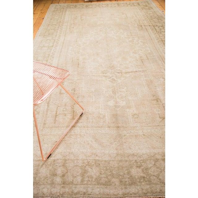 """Vintage Oushak Carpet - 7'3"""" x 12'2"""" For Sale - Image 4 of 7"""