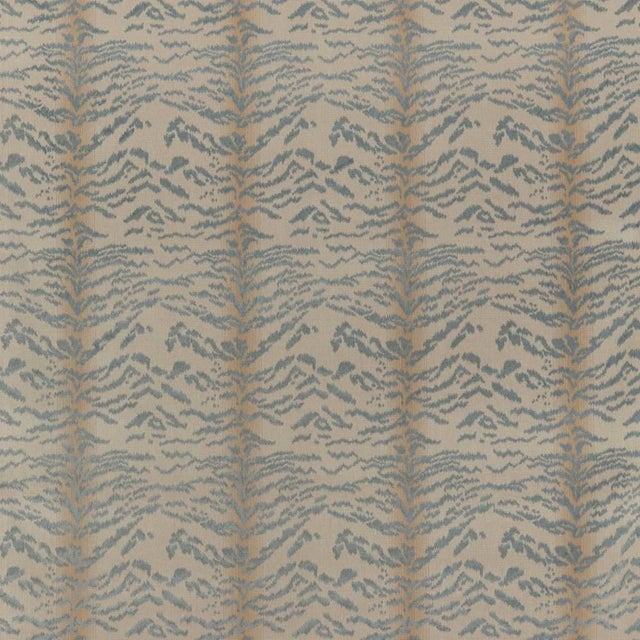 """Rajah Blue"" Cowtan & Tout Fabric For Sale In Washington DC - Image 6 of 6"