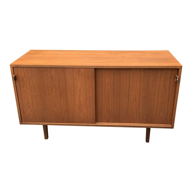Vintage Mid-Century Modern Florence Knoll for Knoll Associates Credenza For Sale