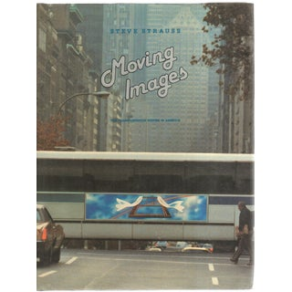 """1984 """"Moving Images: The Transportation Poster in America"""" Coffee Table Book For Sale"""