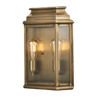 St Martins Brass Wall Lantern Large For Sale