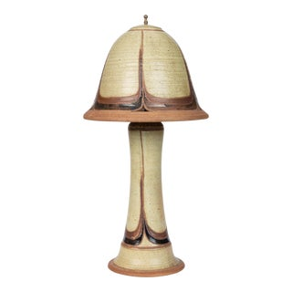 Studio Lamp With Ceramic Lamp Shade For Sale