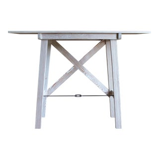 Zebra Grain Console Table