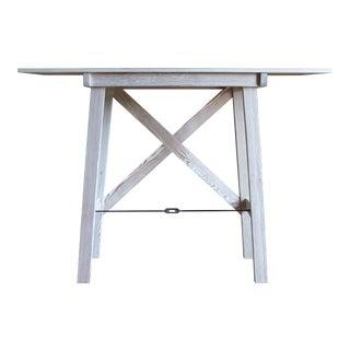 Zebra Grain Turnbuckle Table For Sale