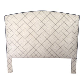 Upholstered Queen Size Headboard For Sale