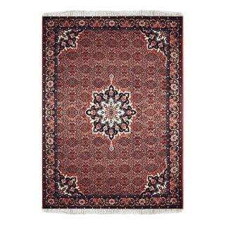 Red Wool Bidjar Rug - 3′2″ × 5′2″ For Sale