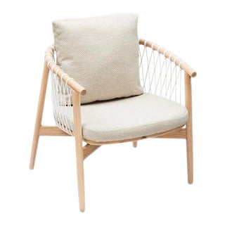 Vesta Anton Rope Detail Lounge Chair For Sale