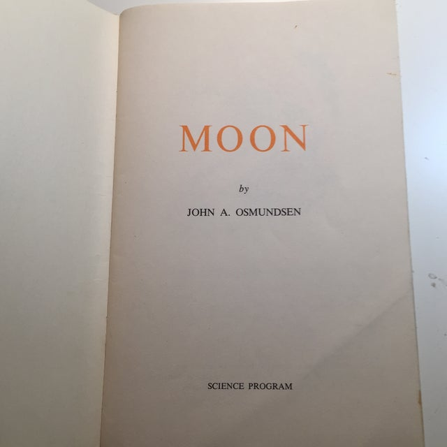 1967 Earth and Moon Science Service Books - Set of 2 For Sale - Image 5 of 11