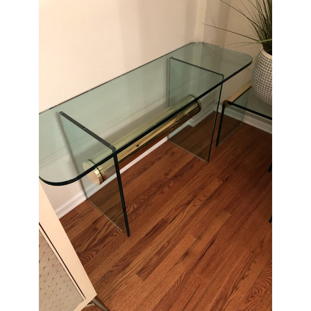 Modern Mid-Century Modern Console Table For Sale - Image 3 of 12