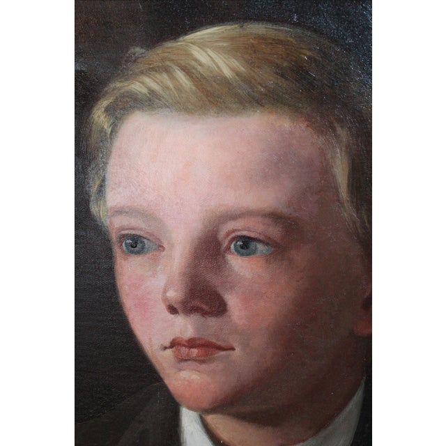 """Earnest Conrad, Age 10"" Painting For Sale - Image 4 of 7"