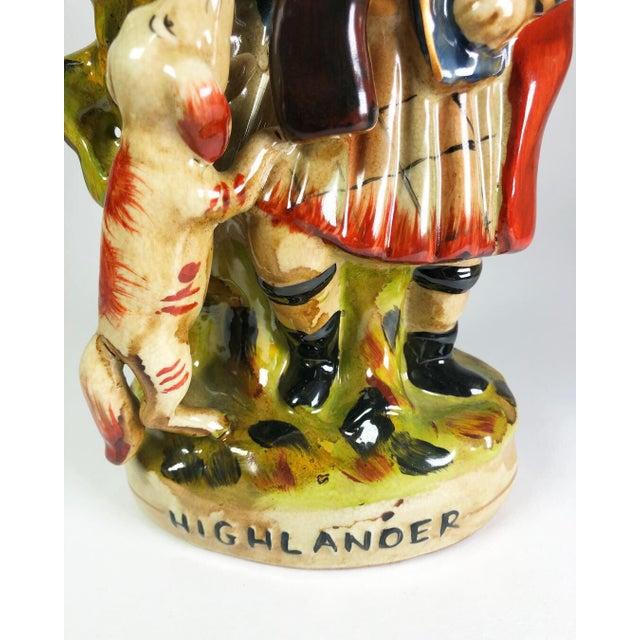 Scottish Highlander Victorian Spill Vase For Sale In Atlanta - Image 6 of 7