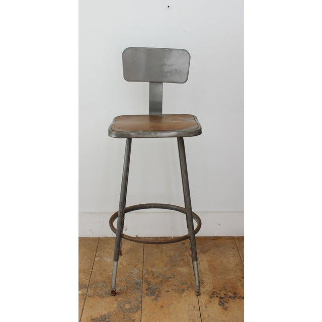 Phenomenal Royal Metal Industrial Stool Lamtechconsult Wood Chair Design Ideas Lamtechconsultcom