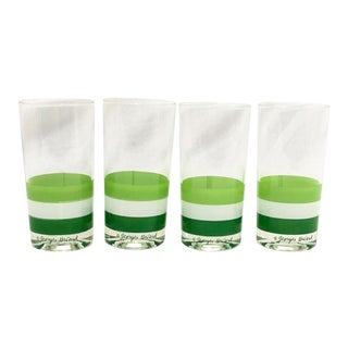 Georges Briard Tea Glasses, Set of 4 For Sale