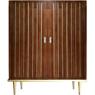 Mid-Century Modern Caracole Multi Tasker Bar Cabinet For Sale