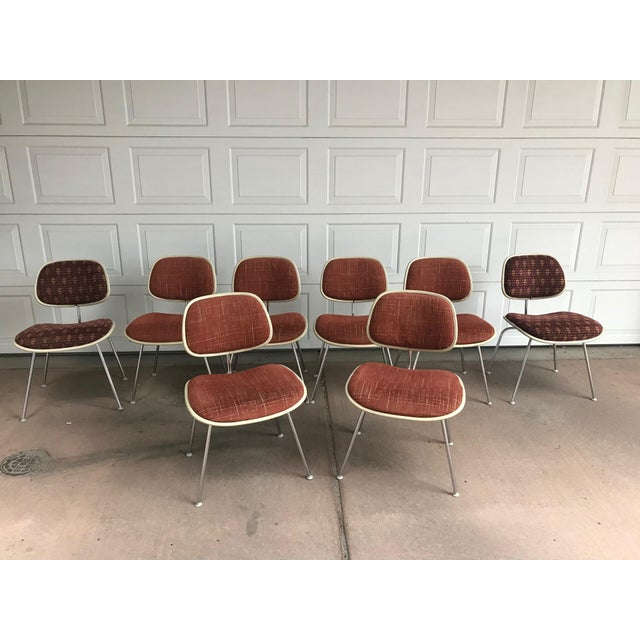 1970s Eames for Herman Miller DCM Chairs - Set of 8 For Sale - Image 13 of 13