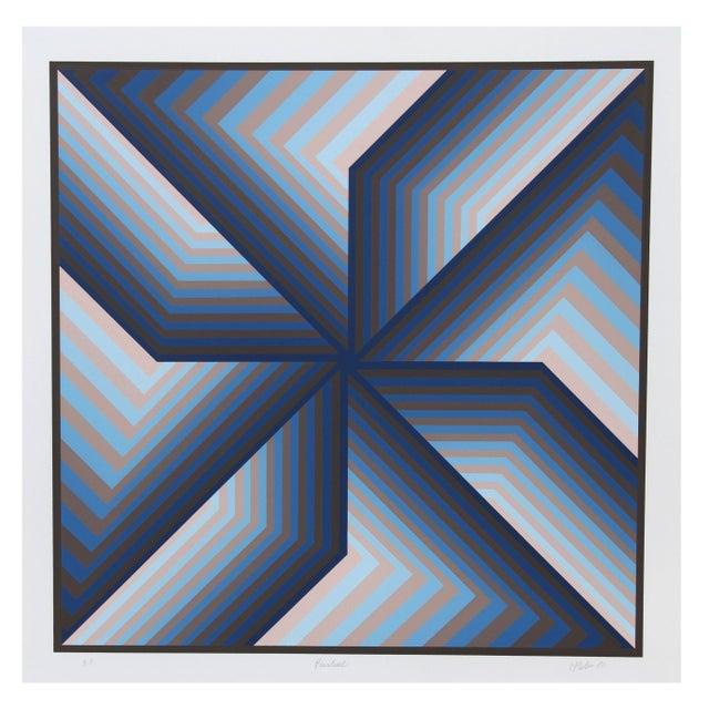 Jurgen Peters - Pinwheel Serigraph - Image 1 of 1