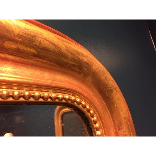 19th Century 19th Century Gold Leaf Louis Philippe Mirror For Sale - Image 5 of 8