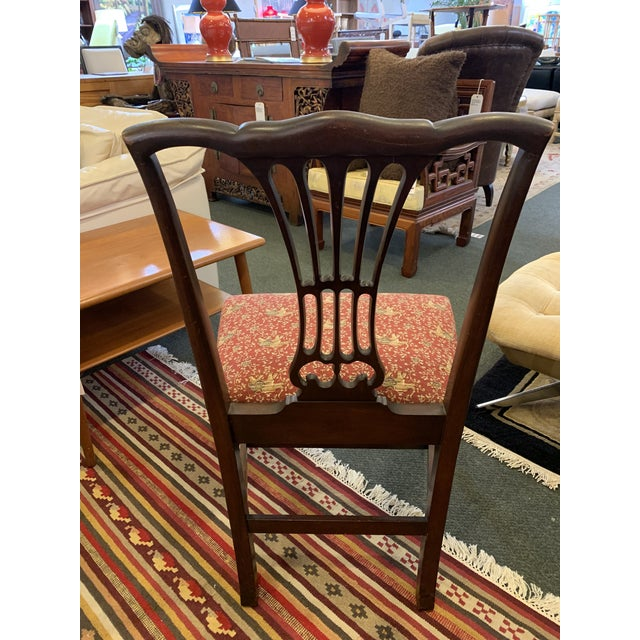 Vintage Chippendale Dining Chairs, Set of Eight For Sale - Image 10 of 12