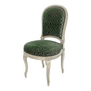 Louis XVI Style Side Chair For Sale
