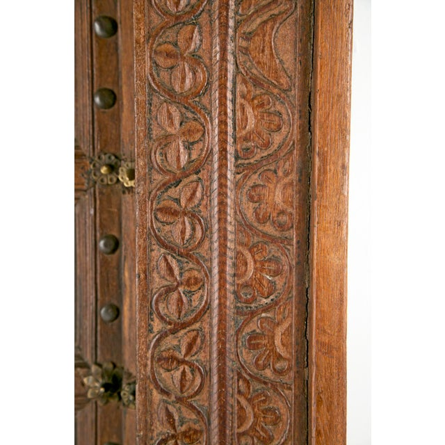 Antique African Doors - A Pair For Sale - Image 11 of 12