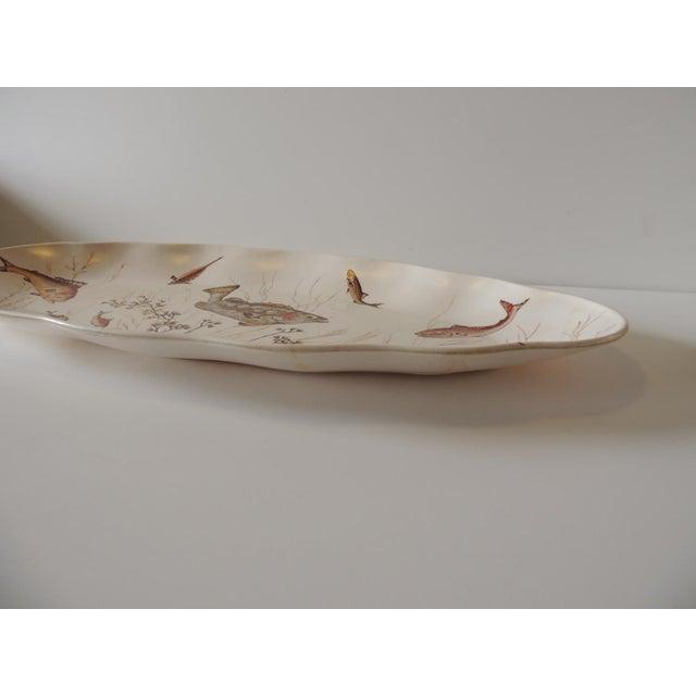 Melamine Oval Serving Platter For Sale - Image 4 of 6