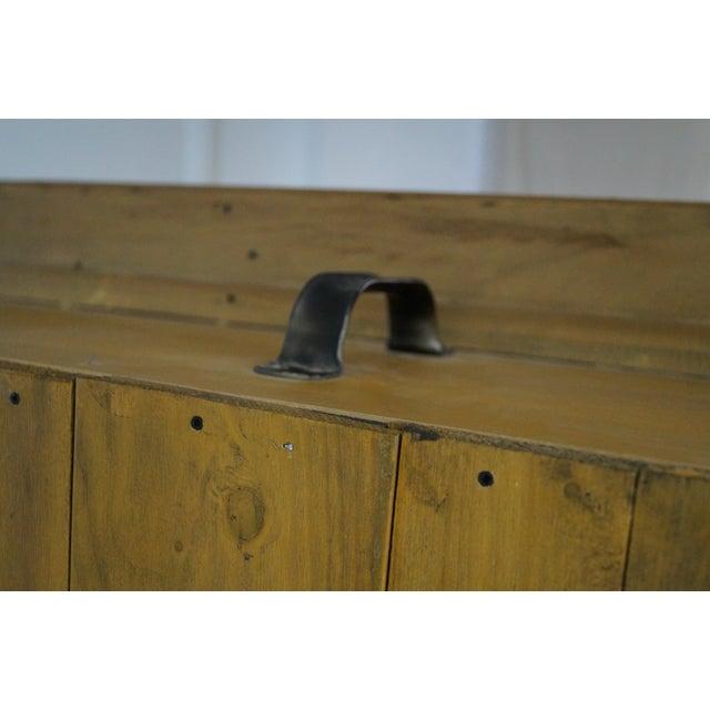 Hand Crafted Shaker Sassafras Wood Bookcase - Image 5 of 10