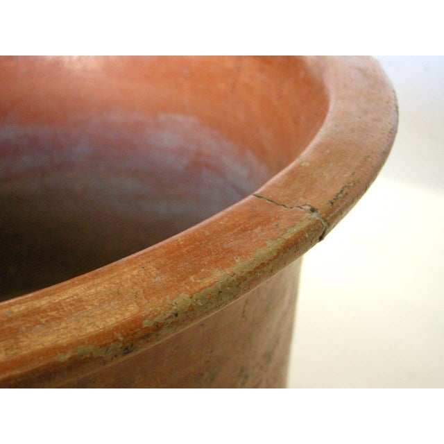 Clay Antique Clay Vessel For Sale - Image 7 of 11