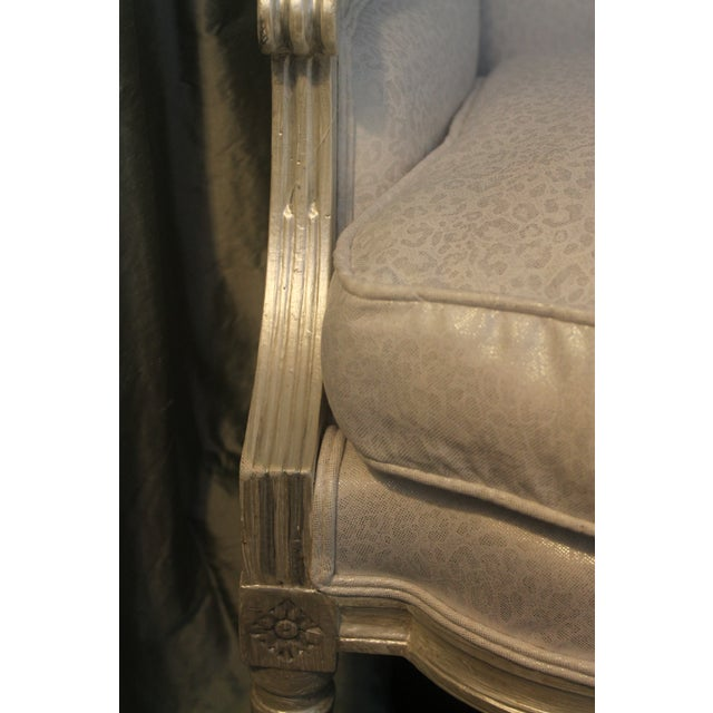Wood Louis XVI Style Early 19th Century Settee For Sale - Image 7 of 11