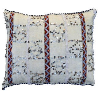 Moroccan Berber Wedding Pillow For Sale