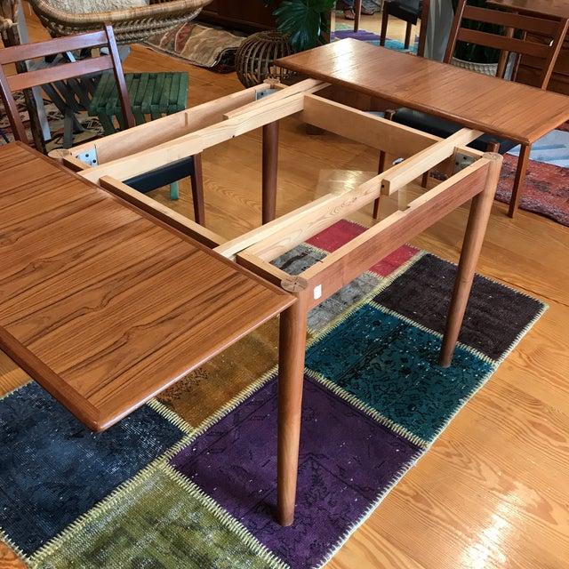 Am Mobler Danish Teak Expandable Table - Image 5 of 10