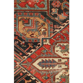 Antique Persian Heriz European-Sized Rug - 9′4″ × 15′4″ Preview