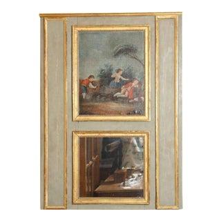 18th century French Louis XVI Trumeau Mirror