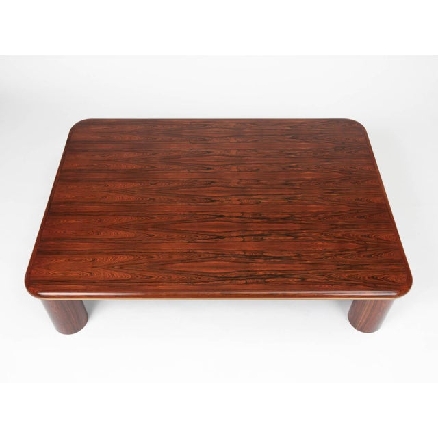Mid 20th Century Monumental Danish Rosewood Coffee Table For Sale - Image 5 of 9