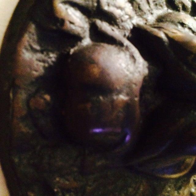 Art Deco Lion Head Relief For Sale - Image 3 of 5