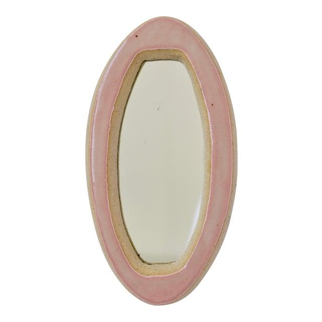 Modern Mini Ceramic Mirror For Sale