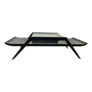 1950s Mid-Century Modern Danish Coffee Table For Sale
