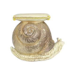 1950s Italian Snail Garden Stool