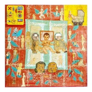 "Original Denise Falk - Carson Artwork ""Family Tree"" 2006"