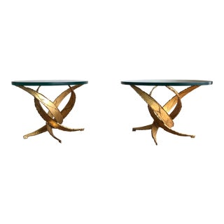 1970s Brutalist Silas Seandel Side Tables - a Pair For Sale