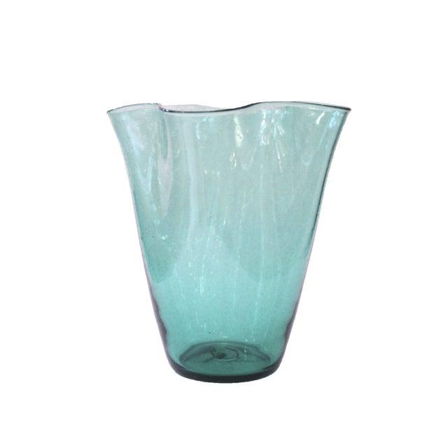 Hand Blown Vintage Blenko Glass Vase - Image 1 of 3