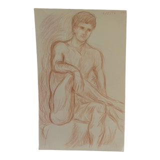 Rex by James Bone 1990s Male Nude For Sale