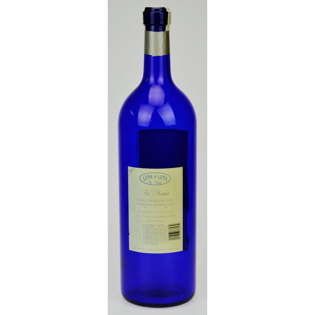 Italian Luna di Luna Wine Display Bottle For Sale - Image 3 of 8