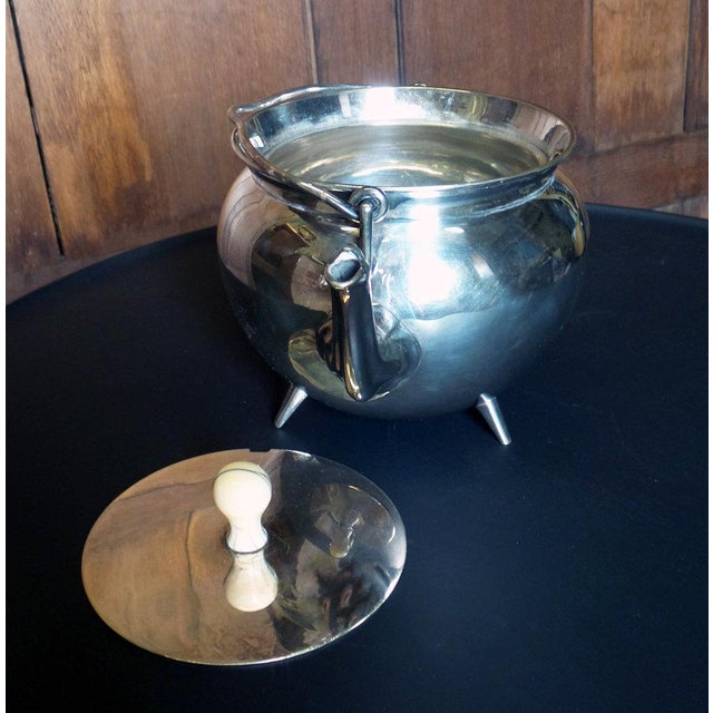 Christopher Dresser Silver Teapot For Sale In New York - Image 6 of 7