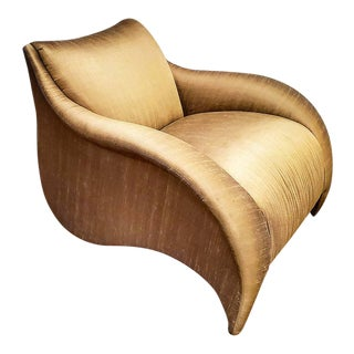 Late 20th Century Vladimir Kagan Wave Lounge Chair for Directional For Sale