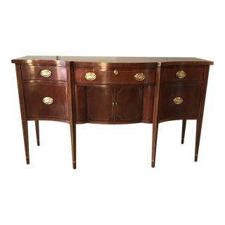 Baker Furniture Federal Style Mahogany Sideboard