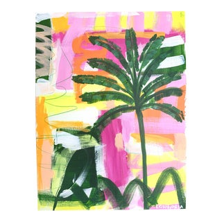 """""""Palms #5"""" Abstract Painting by Christina Longoria For Sale"""