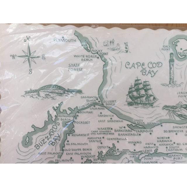 Paper Placemats Cape Cod - Set of 36 For Sale In Charlotte - Image 6 of 7