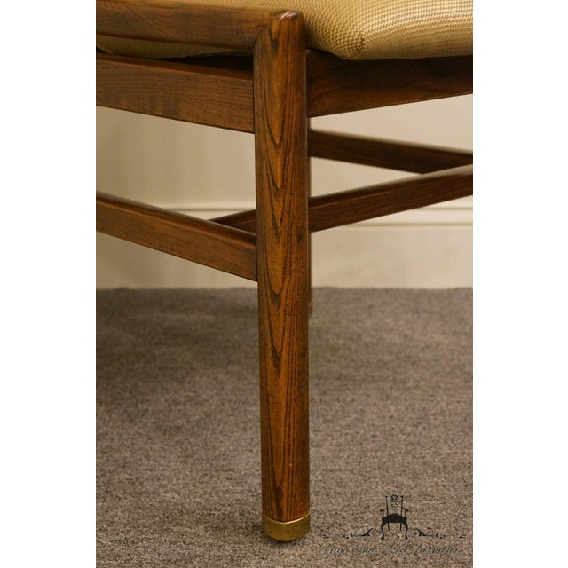 Henredon Mid-Century Modern Solid Walnut Dining / Side Chair For Sale In Kansas City - Image 6 of 13